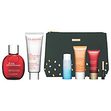 Buy Clarins Eau Dynamisante Spray and Hand & Nail Cream with Gift Online at johnlewis.com