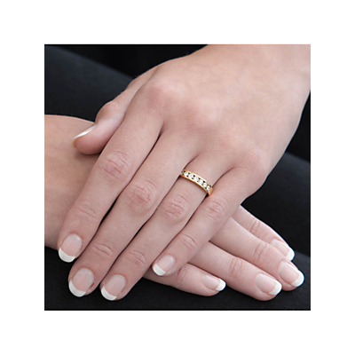 EWA 18ct Gold Diamond Eternity Ring, 0.5ct