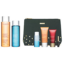 Buy Clarins Toning Lotion and Makeup Remover with Gift Online at johnlewis.com