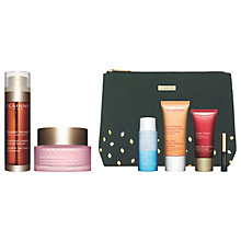 Buy Clarins Double Serum and Multi-Active Day Cream with Gift Online at johnlewis.com