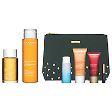 Buy Clarins Tonic Bath & Shower Concentrate and Body Treatment Oil with Gift Online at johnlewis.com