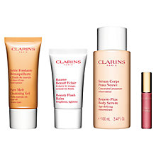 Buy Clarins Radiant Experts Kit Online at johnlewis.com