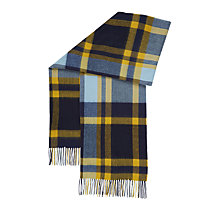 Buy Hobbs Nicola Check Scarf, Blue/Multi Online at johnlewis.com