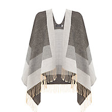 Buy Mint Velvet Colourblock Scarf, Grey Online at johnlewis.com