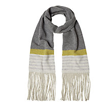 Buy White Stuff Edie Skinny Stripe Scarf, Multi Online at johnlewis.com