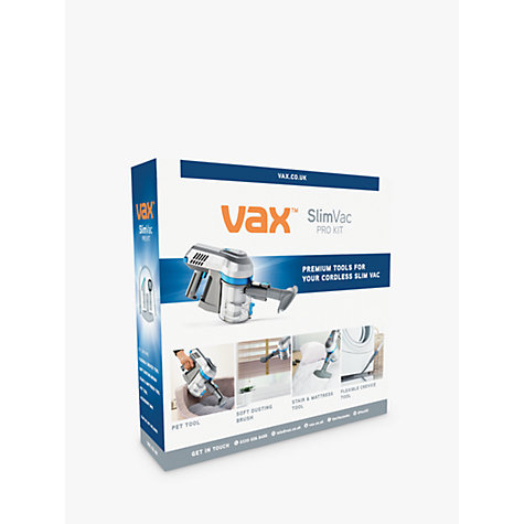 buy vax 4 piece pro tool kit for cordless slimvac john lewis. Black Bedroom Furniture Sets. Home Design Ideas