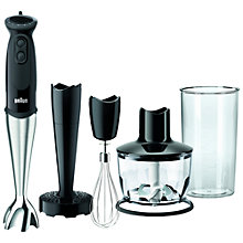 Buy Braun MQ5137 Multiquick Sauce+ Hand Blender, Black Online at johnlewis.com