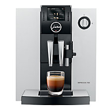 Buy Jura F85 Bean-to-Cup Coffee Machine, Platinum Online at johnlewis.com