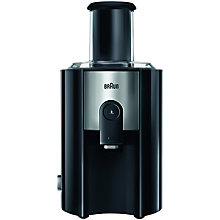 Buy Braun J500 Multiquick 5 Spin Juicer, Black Online at johnlewis.com