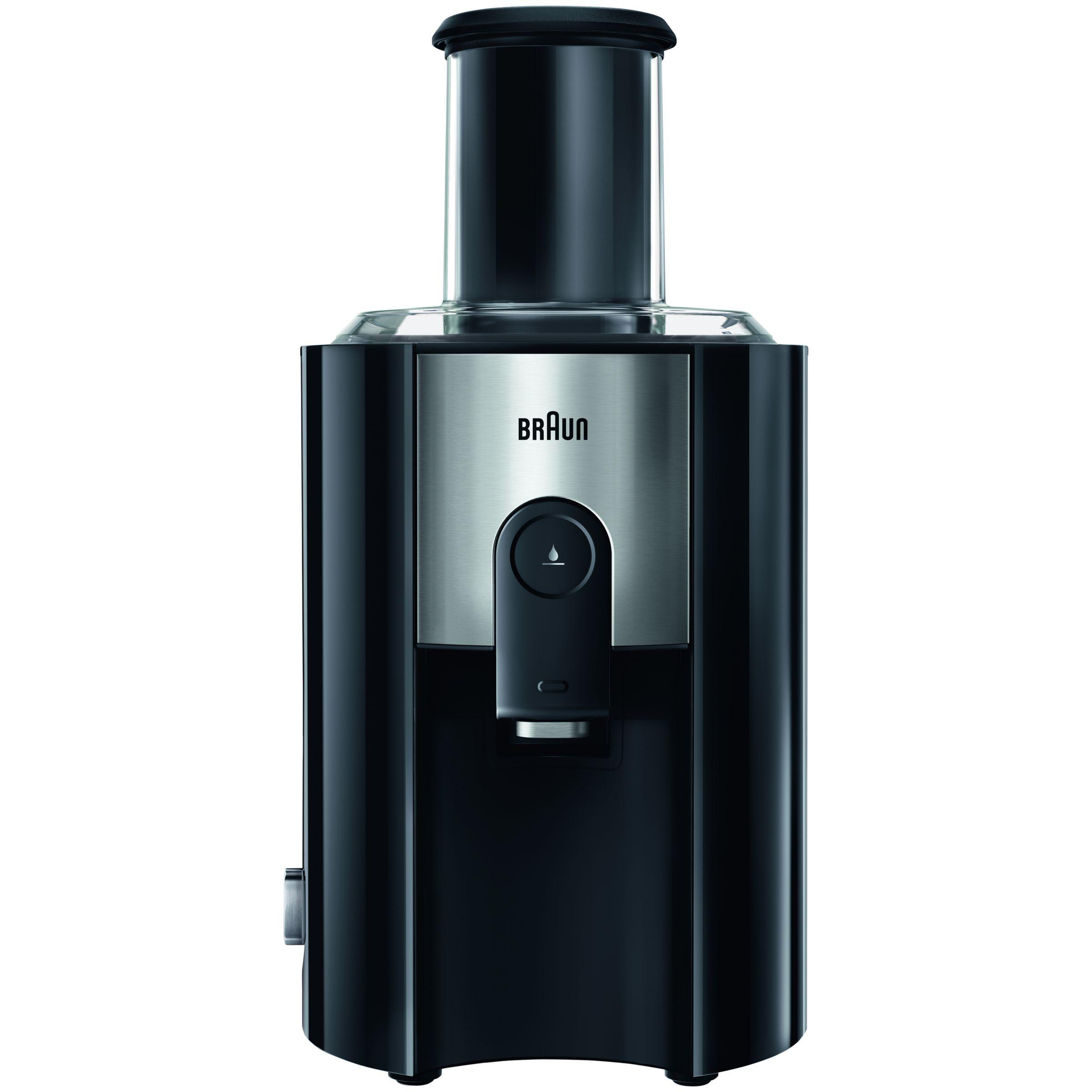Braun Braun J500 Multiquick 5 Spin Juicer, Black