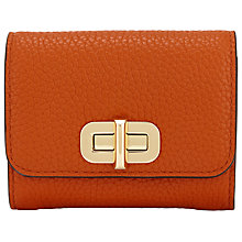 Buy MICHAEL Michael Kors Sullivan Leather Medium Card Holder Purse Online at johnlewis.com