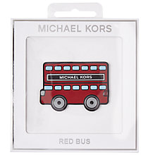 Buy MICHAEL Michael Kors Red Bus Leather Sticker, Multi Online at johnlewis.com