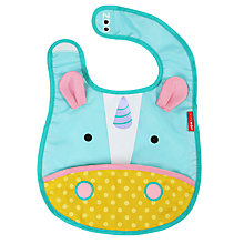 Buy Skip Hop Baby Zoo Unicorn Bib Online at johnlewis.com