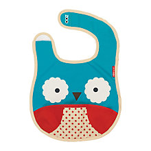 Buy Skip Hop Baby Zoo Owl Bib Online at johnlewis.com