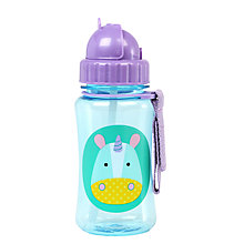 Buy Skip Hop Baby Unicorn Straw Bottle Online at johnlewis.com