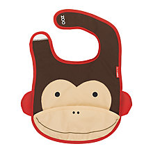 Buy Skip Hop Baby Zoo Monkey Bib Online at johnlewis.com