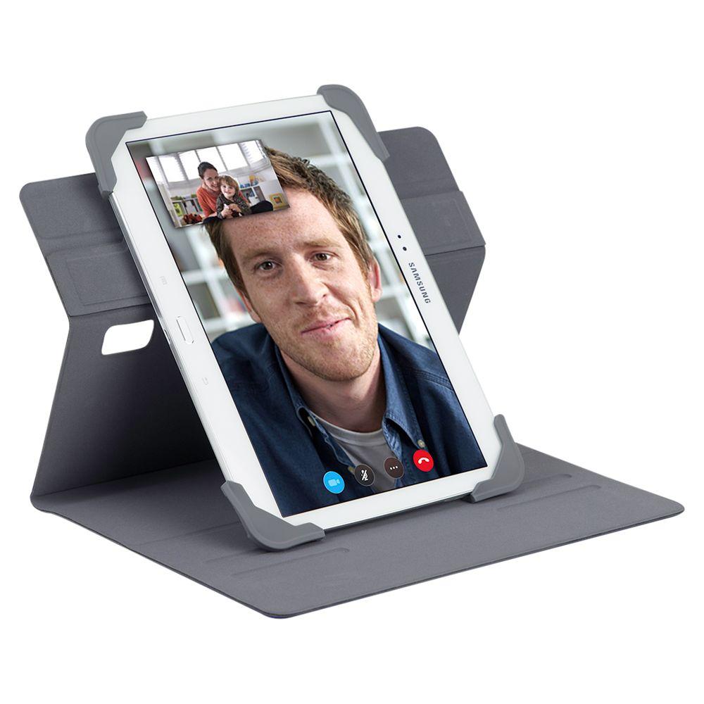 Targus Targus Fit N' Grip 7-8 Rotating Universal Tablet Case, Grey