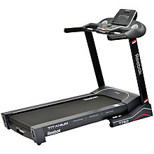 Buy Reebok Titanium TT3.0 Treadmill, Black Online at johnlewis.com