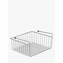 Buy John Lewis Under Shelf Basket Online at johnlewis.com