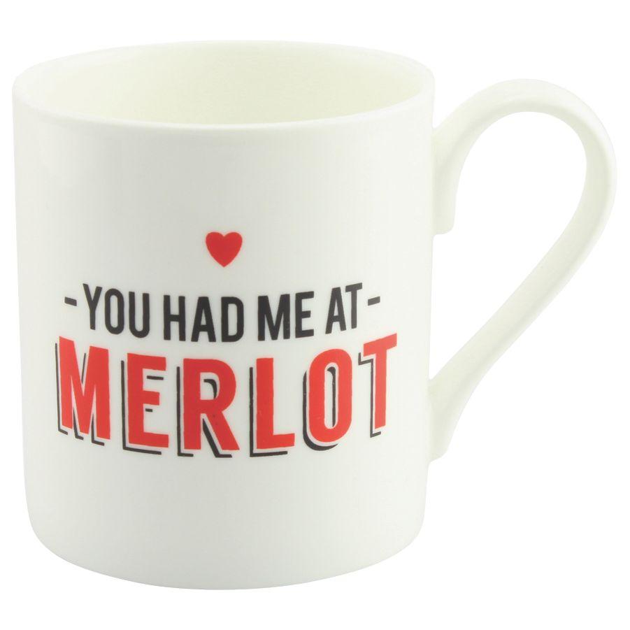 Alice Scott Alice Scott 'Had Me At Merlot' Mug