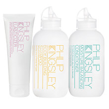 Buy Philip Kingsley Body Building Shampoo and Moisture Balance Conditioner with Gift Online at johnlewis.com