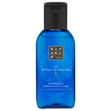 Buy Rituals The Ritual of Samurai Hand Hygiene Gel, 50ml Online at johnlewis.com
