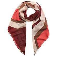 Buy Mulberry Logo Square Scarf Online at johnlewis.com