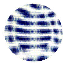 Buy Royal Doulton Pacific Dot 16cm Plate, Seconds Online at johnlewis.com