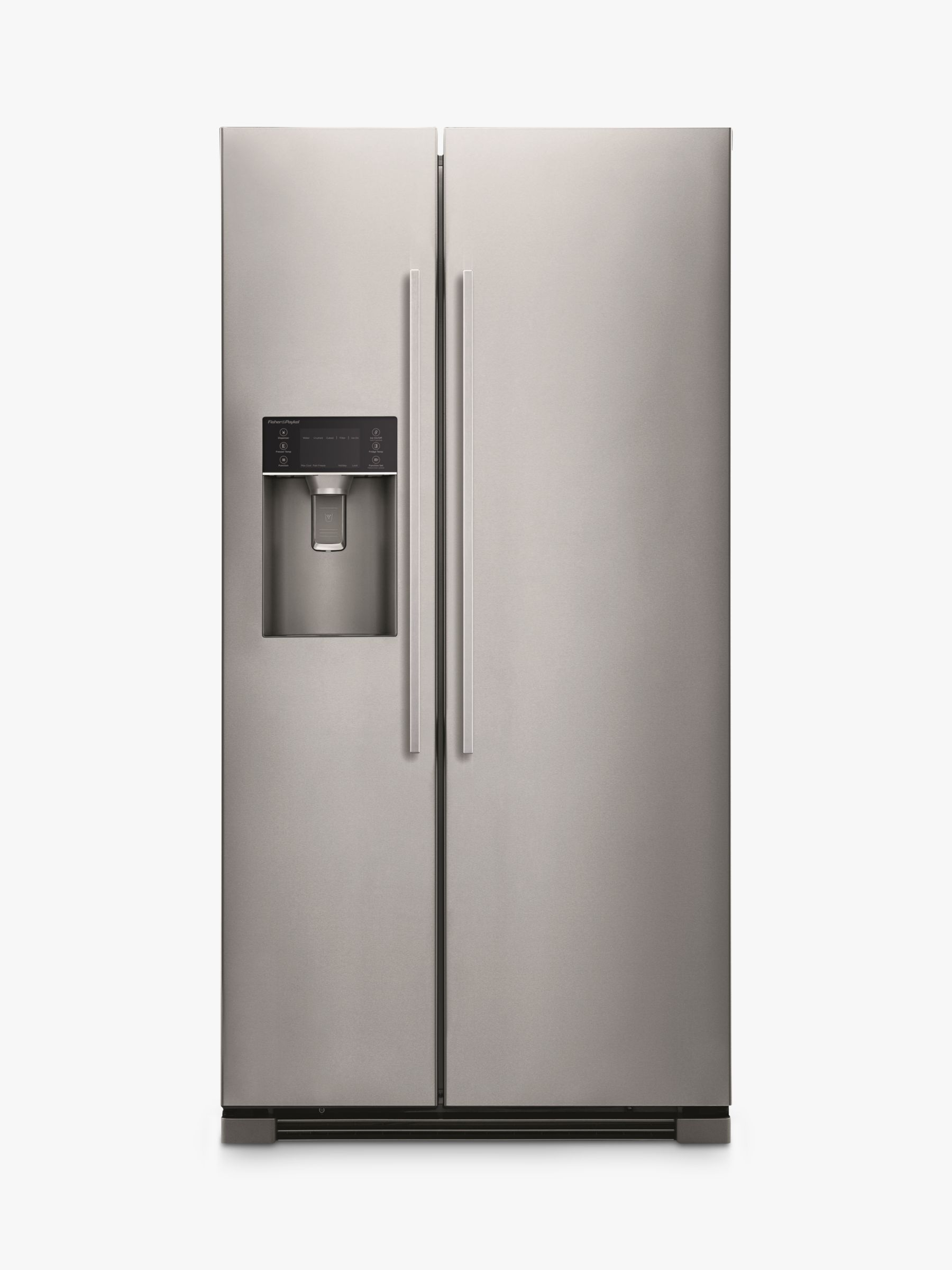 Fisher & Paykel Fisher & Paykel RX611DUX American Style Fridge Freezer, Stainless Steel