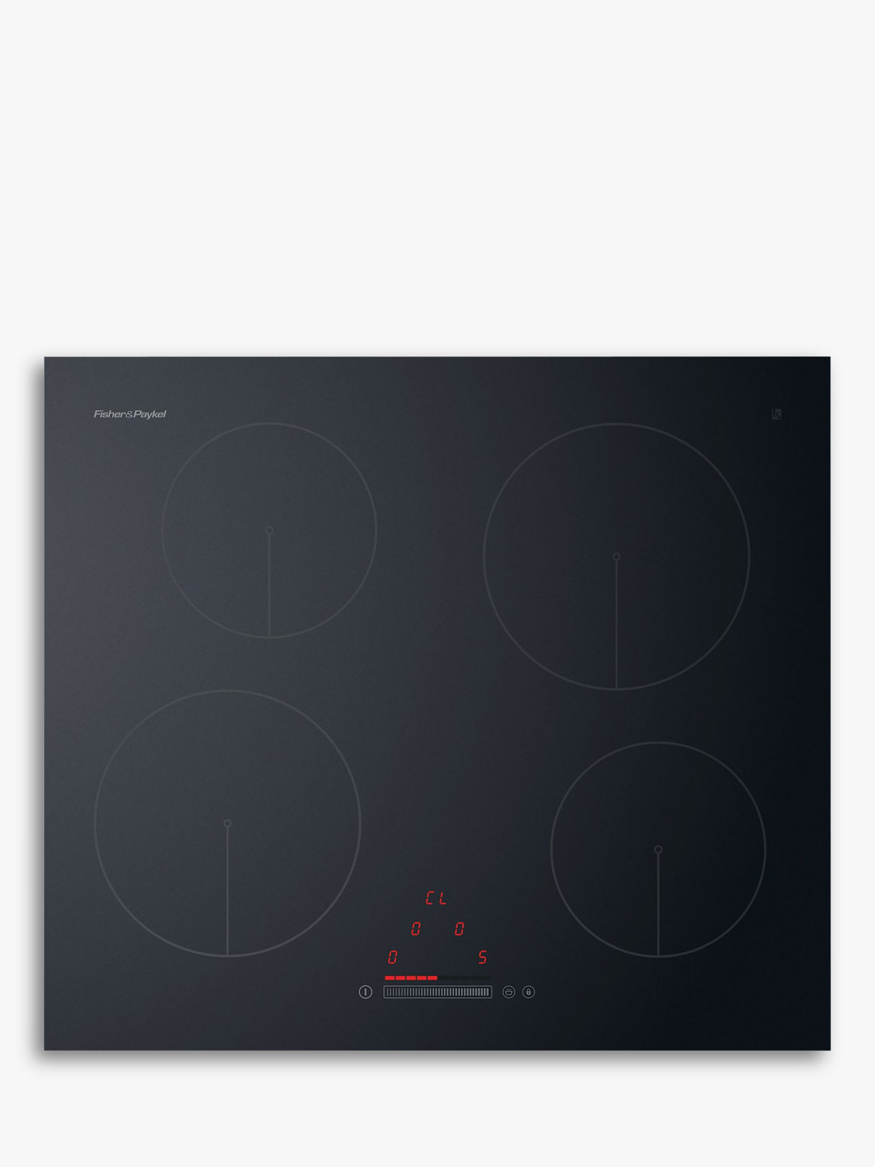 Fisher & Paykel Fisher & Paykel CI604CTB1 Induction Hob, Black