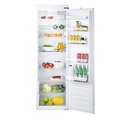 Hotpoint HS1801AA Integrated Tall Fridge A Energy Rating 54cm Wide