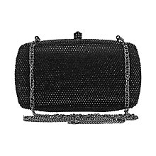 Buy Reiss Ancona Hardcase Sparkle Clutch Bag Online at johnlewis.com