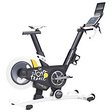 Buy ProForm Tour De France Indoor Exercise Bike, Black/White/Yellow Online at johnlewis.com