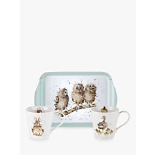Buy Royal Worcester Wrendale Tray & 2 Mugs Set Online at johnlewis.com