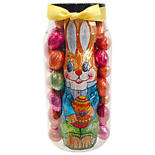 Buy Milk Chocolate Mini Eggs With Rabbit, 620g Online at johnlewis.com