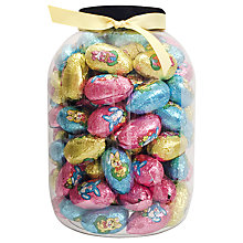 Buy Giant Tub Of Character Chocolate Easter Eggs, 1.1kg Online at johnlewis.com