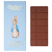 Buy Charbonnel et Walker Peter Rabbit Milk Chocolate Bar, 80g Online at johnlewis.com