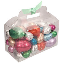 Buy Foil-Wrapped Eggs In Carry Case, 600g Online at johnlewis.com
