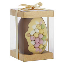 Buy The Cocoabean Company Mini Egg Milk Chocolate Easter Egg, 350g Online at johnlewis.com