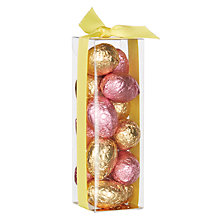 Buy Mini Foiled Milk Chocolate Easter Eggs In Cube Box, 105g Online at johnlewis.com