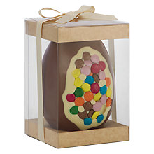 Buy The Cocoabean Company Smartie Inclusion Milk Chocolate Easter Egg, 350g Online at johnlewis.com