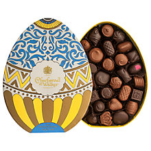 Buy Charbonnel et Walker Easter Egg Chocolate Box, Dark And Milk Chocolate Selection, 395g Online at johnlewis.com