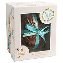 Buy Charbonnel et Walker Peter Rabbit Milk Chocolate Easter Egg, 115g Online at johnlewis.com