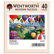 Buy Wentworth Wooden Puzzles Sky Road Balloon Jigsaw Puzzle, 40 pieces Online at johnlewis.com