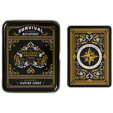Buy Gentleman's Hardware Playing Cards Online at johnlewis.com