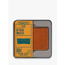 Buy Stanley Bi Fold Leather Wallet, Tan Online at johnlewis.com