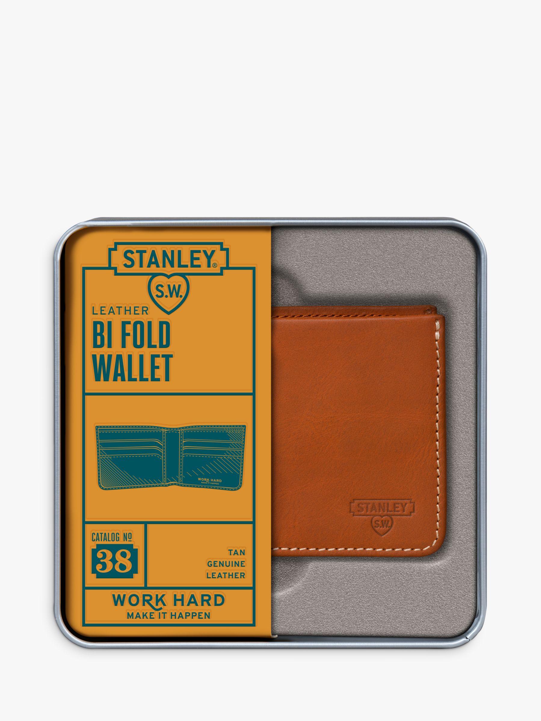 Stanley Stanley Bi Fold Leather Wallet, Tan
