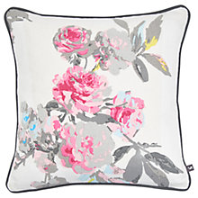 Buy Joules London Floral Cushion Online at johnlewis.com