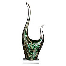 Buy Leonardo Impulso Sculpture, Green Online at johnlewis.com