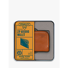 Buy Stanley Zip Around Wallet, Tan Online at johnlewis.com